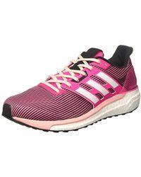 Supernova Glide 9 Running Shoes - Pink