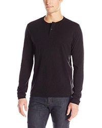 Theory - Gaskell Hl Nebulous Long-sleeve Henley Shirt - Lyst