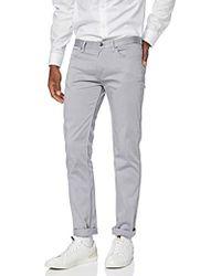 a9ebf090a HUGO Slim-Fit Jeans ' 734' In Biker Style in White for Men - Lyst