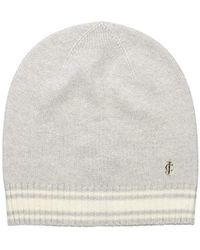 Juicy Couture - Black Label Super Soft Cashmere Beanie With Color Blocking - Lyst