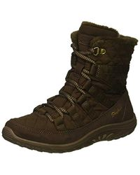 Skechers - Reggae Fest-moro Rock-short Quilted Lace Up Bootie Ankle Boot - Lyst