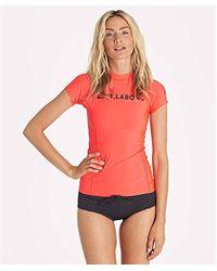Billabong - Surf Dayz Wetshirt Short Sleeve Rashguard - Lyst