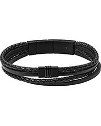 Fossil Armband VINTAGE CASUAL JF03098001 - Schwarz