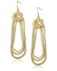 CC SKYE - Goldie Dangle Drop Earrings - Lyst