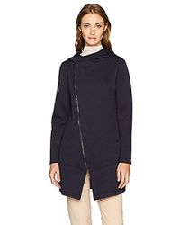 Betsey Johnson - Onded Tech Fleece Coat - Lyst