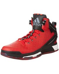 bcf7078d3855 adidas D Rose 8 Men s Shoes (high-top Trainers) In White in White ...