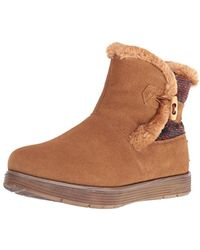 Skechers - Adorbs-sweater Trimmed Snow Boot - Lyst
