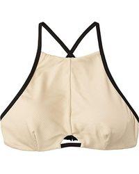 RVCA - Frothy Bralette Bikini Top - Lyst