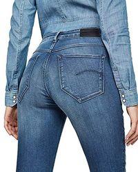 G-Star RAW - Damen G-Star Shape High Waist Super Skinny Jeans - Lyst