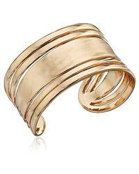 Sam Edelman - Open Metal Cuff Bracelet - Lyst