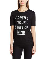 f5ddcaa7970f6f Cheap Monday - Slide Top State Of Mind Plain Short Sleeve T-shirt - Lyst