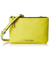 b107b28574a Calvin Klein - Ck Must Ew Crossbody Cross-body Bag - Lyst