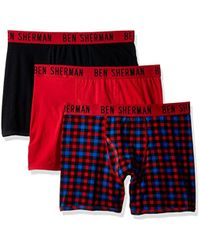 Ben Sherman - 3 Pack Boxer Brief-bsm1102us - Lyst