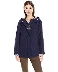 Jones New York - Cotton Bonded Water Repellent Jacket - Lyst