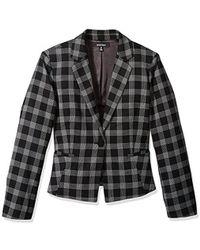 Ellen Tracy - Single Button Jacket - Lyst