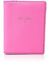 Fossil - Rfid Passport Wallet Pass Case - Lyst