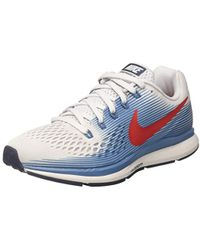 00078d210068 Nike  s Air Zoom Pegasus 35 Running Shoes in Gray for Men - Lyst