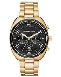 Michael Kors - Watches S Dane Gold-tone Watch - Lyst