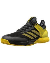 lyst adidas adizero ubersonic 3 w scarpa da tennis in giallo per gli uomini.