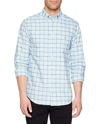 GANT - The Oxford Three-color Gingham Casual Shirt - Lyst