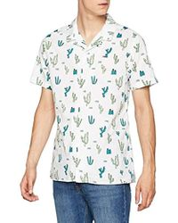 cc7064933aca Tommy Hilfiger - Summer Print Camp Short Sleeve Classic Casual Shirt - Lyst