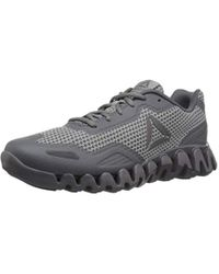 Reebok Zig Pulse Running Shoe - Gray