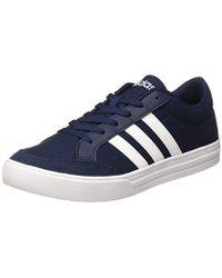 851b931e57e adidas Vs Set Tennis Shoes in Blue for Men - Lyst