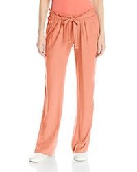 Roxy - Lucky Surf Flare Viscose Beach Pant - Lyst