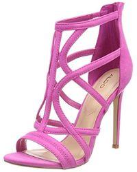 a21681151e5a ALDO - Tifania Open Toe Sandals - Lyst