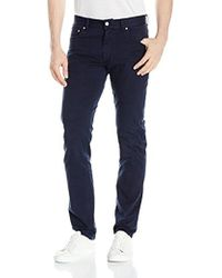 Lacoste - Cotton Twill Stretch 5 Pocket Slim Fit Pant, Hh2761-51 - Lyst