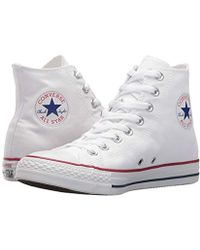 346b5e7ef718 Lyst - Converse Orange Chuck Taylor Canvas Vintage High-top Sneakers ...