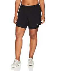 Champion - Plus Size Woven 2 In 1 Short - Lyst