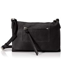 Linea Pelle - Hunter Cross-body, Black - Lyst