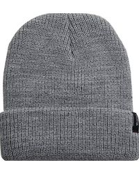 Lyst - Brixton Heist Beanie (heather Grey) Beanies in Gray for Men ec17b615b3d9
