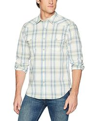 Lucky Brand - Casual Long Sleeve Western Button Down Shirt - Lyst