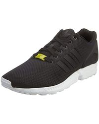 e25ada880a04 Lyst - White Mountaineering + Adidas Zx Flux Plus Sneakers in Black ...