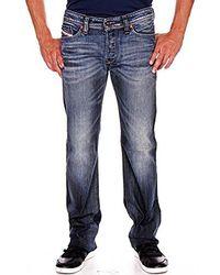 DIESEL - Viker Regular 0885k Slim Straight-leg Jean - Lyst