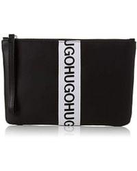HUGO - Kingston Pouch, 's Bag Organiser, Black, 1x17x25 Cm (b X H T) - Lyst