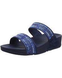 Fitflop - Incastone Slide Sandals - Lyst