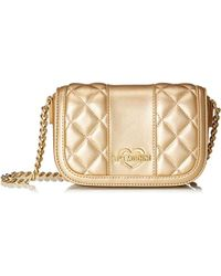 Love Moschino - - Borsa Quilted Metall.nappa Pu, Borse a spalla Donna - Lyst
