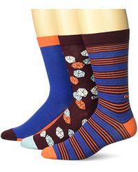DIESEL - Ray Three Pack Stripe Socks - Lyst