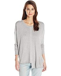 Wilt - Slouchy Shifted Tie Back Sweater - Lyst