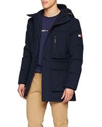 Tommy Hilfiger - Heavy Canvas Down Parka - Lyst