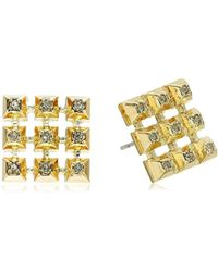 House of Harlow 1960 - S The Lyra Button Earrings - Lyst