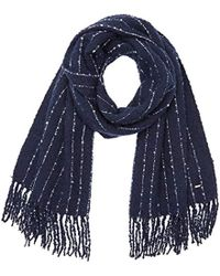 Pepe Jeans - Kyra Scarf Shawl, Blue (admiral), One Size (manufacturer Size: 000) - Lyst