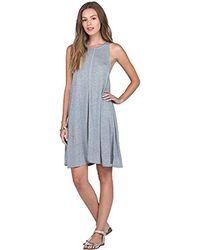 2915fccc5bc07 Lyst - Free People Ridin  Solo Mini Dress in Gray