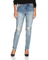 Bandolino - Lisbeth Curvy Skinny 5 Pocket Jean - Lyst
