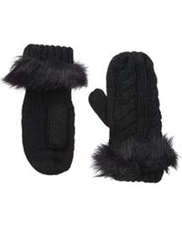 Michael Stars - Cable Knit Mitten Accessory - Lyst