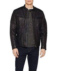 81651bc47cb Pepe Jeans Lennon 18 Coat Jacket in Black for Men - Lyst