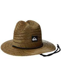 Quiksilver - Pierside Slim Straw Hat - Lyst